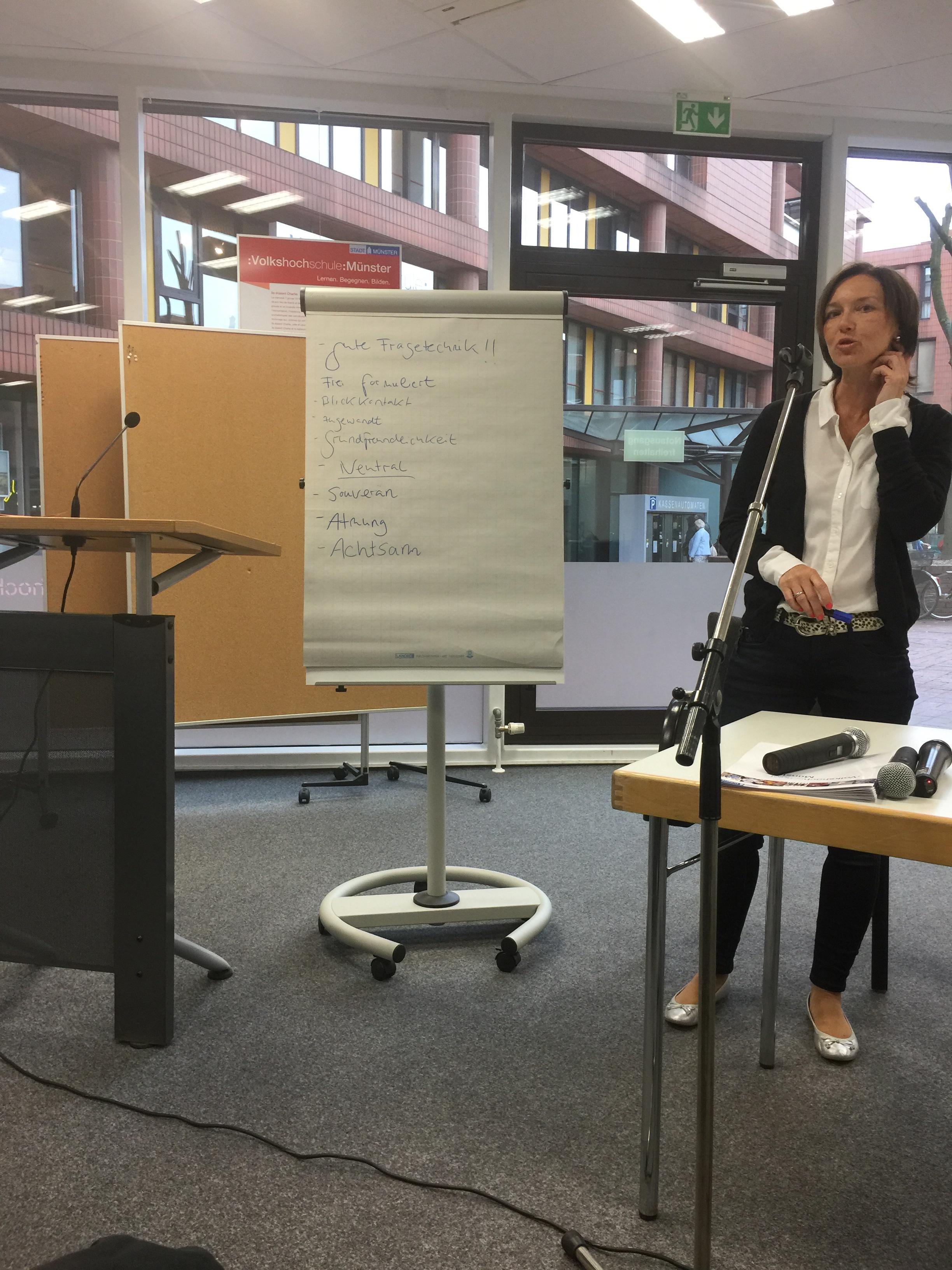 Workshop: Live-Moderation