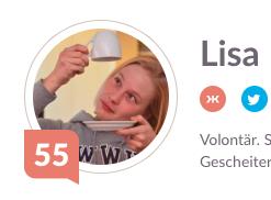 Klout-Score: 55